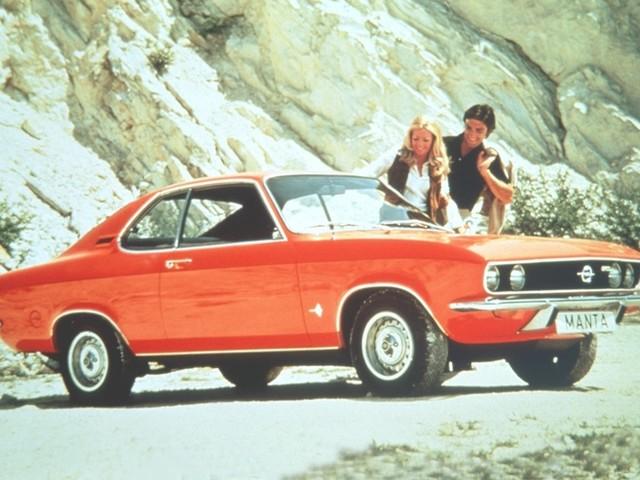 Opel Manta (1970 - 1988) - Un mini pony-car dès 5000 €