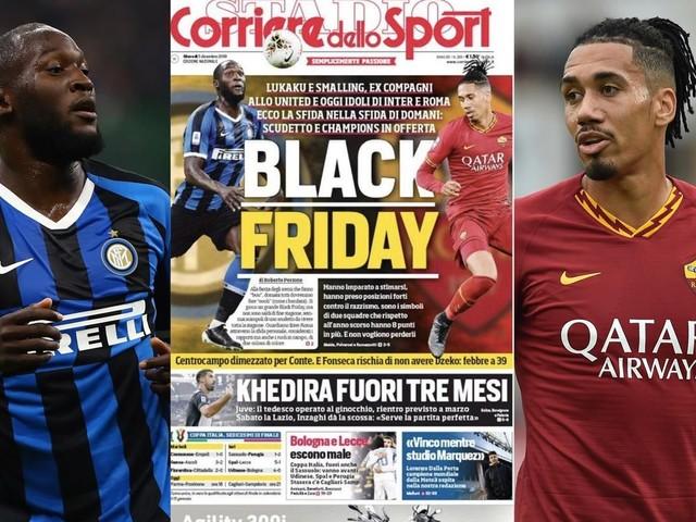 Les clubs italiens s'insurgent après la Une raciste du Corriere dello Sport