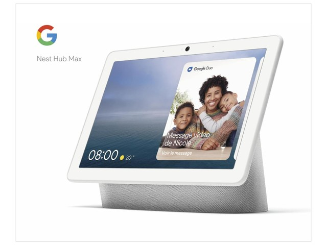 Le Google Nest Hub Max profite d'une offre de lancement pour sa sortie en France