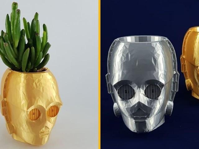 [TOPITRUC] Un mini pot de fleur C-3PO dans Star Wars
