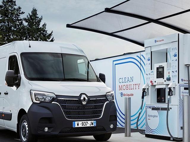 Renault met de l'hydrogène dans ses utilitaires