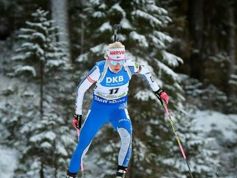 Biathlon: le doublé pour Mäkäräinen avec lala poursuite de Pokljuka