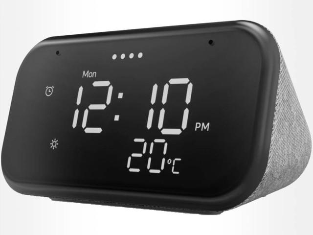 French Days : l'horloge intelligente Lenovo Smart Clock Essential est à moins de 30 €