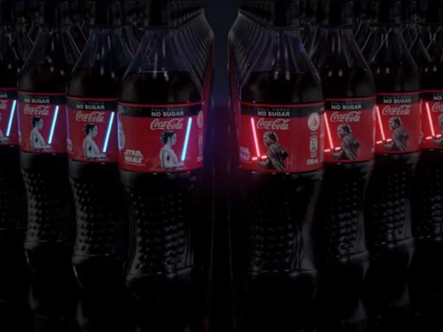 Coca-Cola lance des bouteilles Stars Wars qui s'illuminent