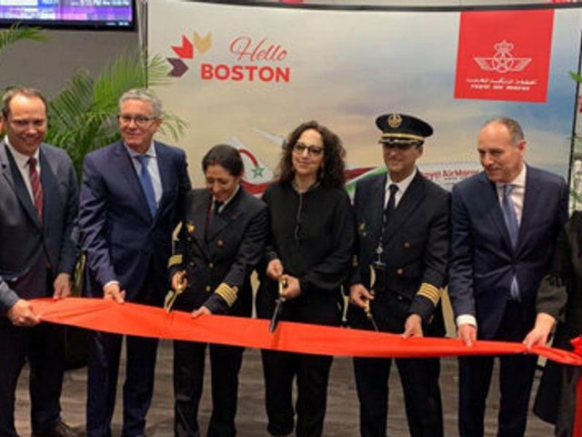 La RAM inaugure sa liaison directe Casablanca-Boston, sa quatrième ligne vers les Etats-Unis