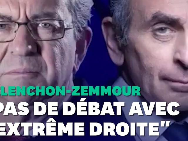 Le débat entre Éric Zemmour et Jean-Luc Mélenchon crispe la gauche