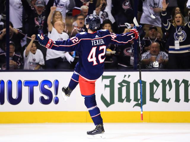 NHL – Washington s'incline face aux Columbus et Alexandre Texier