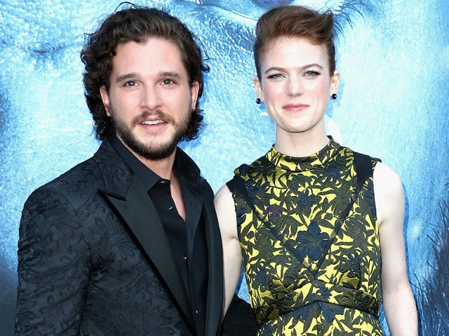 "Kit Harington et Rose Leslie, stars de ""Game Of Thrones"", attendent leur premier enfant"