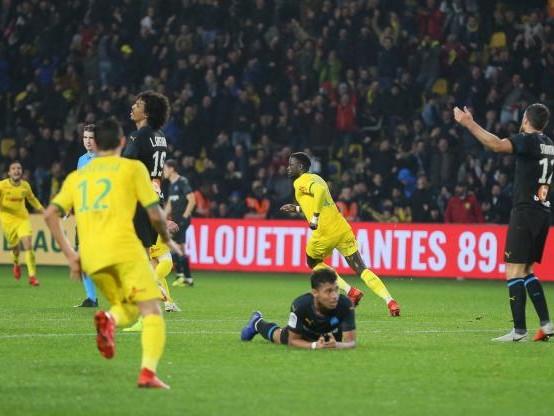 Foot - L1 - Ligue 1 : Marseille craque à Nantes