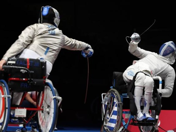 Jeux Paralympiques - Escrime - Pas de médaille pour le sabreur Maxime Valet aux Jeux Paralympiques de Tokyo