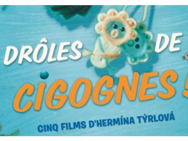 """Comment occuper les enfants en ce début de vacances? """"Drôles de Cigognes"""" au cinéma du 3 au 9 juillet à Usson En Forez"""