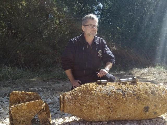 Champdivers: une bombe de 250kg