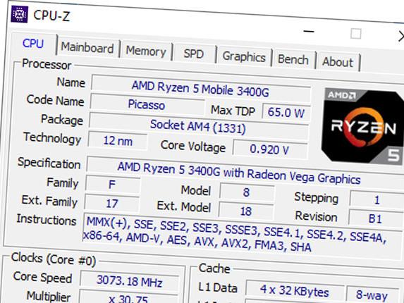 CPU-Z 1.90