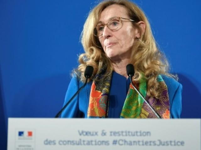 Chantiers de la justice: Belloubet présentera une loi pénale en avril