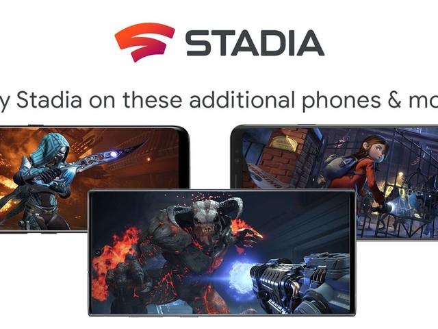 Google Stadia arrive sur les smartphones de Samsung, ASUS et Razer
