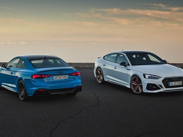 Audi RS5 Coupé et Sportback: unrestylage visible