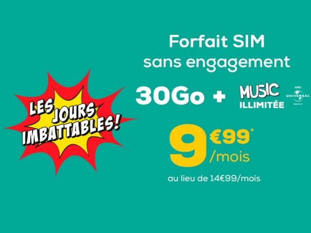 Avec son forfait mobile 30 Go à 10 €, La Poste Mobile casse le game ?