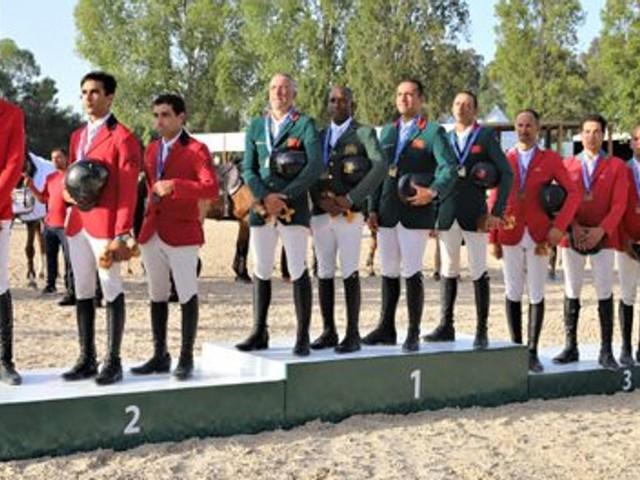 Jeux africains: Médaille d'or pour le Maroc au saut d'obstacles par équipe