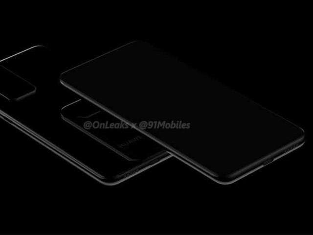 Huawei P40 et P40 Pro : Voici les premiers rendus de leur design