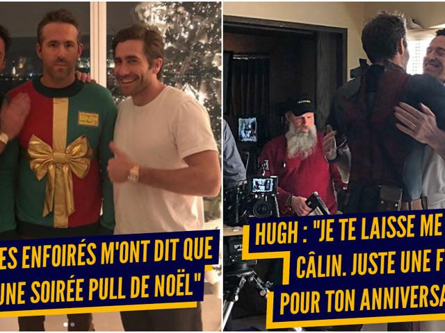 Top 12 des meilleures blagues entre Ryan Reynolds et Hugh Jackman, la bromance ultime