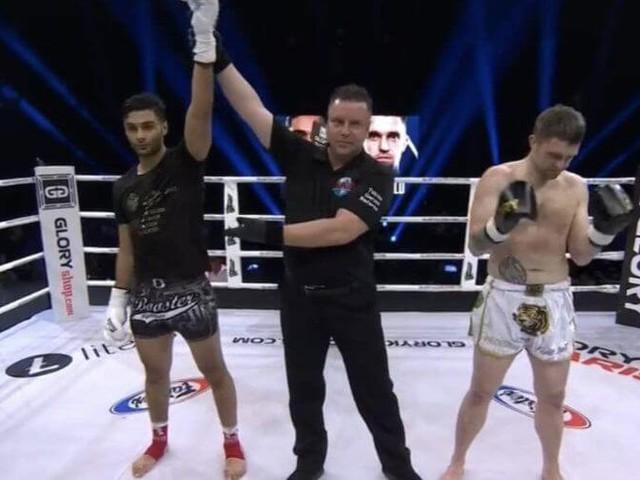 """""""Glory 66"""" : le Marocain Hamicha gagne par Ko dès le premier round (vidéo)"""