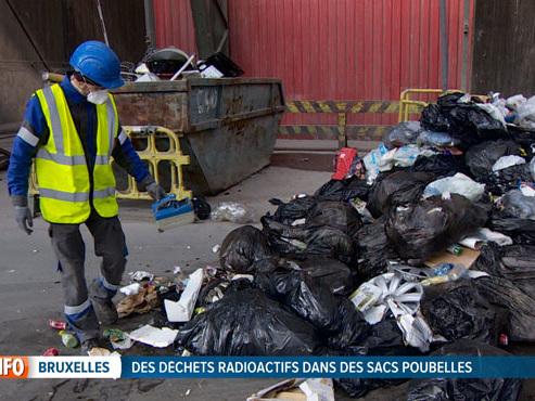 Comment les employés de Bruxelles-Propreté détectent-ils les déchets radioactifs? (vidéo)