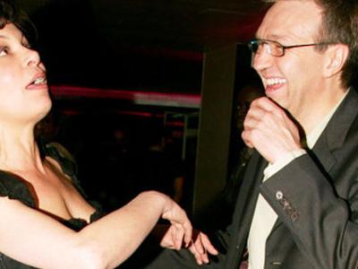 Ivre, Laurent Ruquier a demandé Isabelle Mergault en mariage