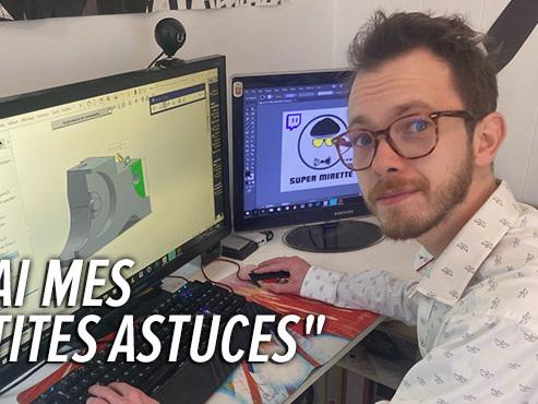 Bruno, 30 ans, infographiste, ne trouve pas de travail: sa vue déclinante pose difficulté