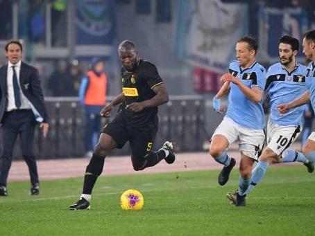 Les Belges à l'étranger - L'Inter et Lukaku battus à la Lazio dans le choc de la Serie A