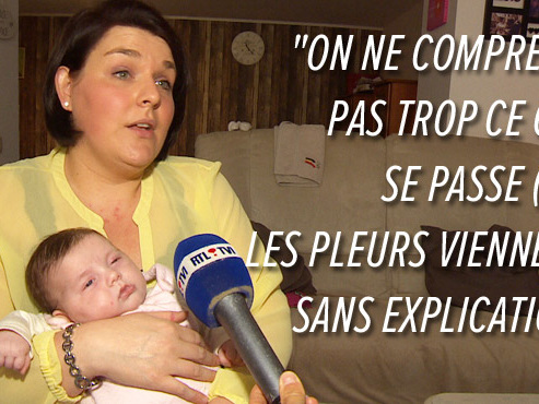 """Le baby blues des mamans lors des 2 premières semaines: """"Les pleurs viennent sans explication"""""""