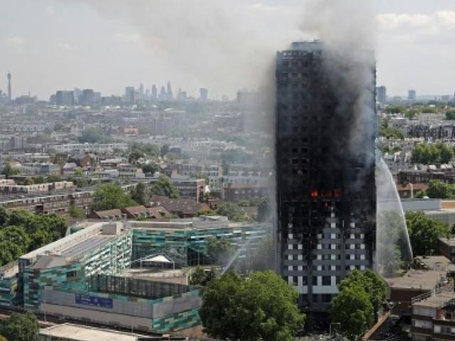 Six mois après l'incendie de la tour Grenfell, le Royaume-Uni se recueille