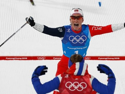 La gazette des JO d'hiver 2018: record, craquage et masque de ski