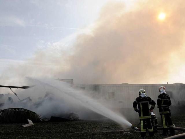 Gironde: incendie dans un village de vacances à Carcans