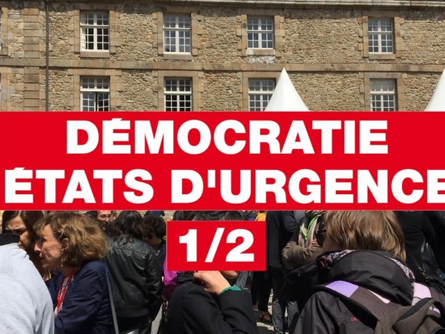 [VIDEO] Etonnants Voyageurs 2017: démocratie, états d'urgence