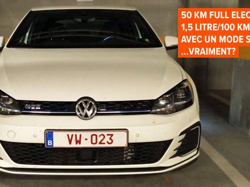 """Avec sa GTE, VW veut prouver qu'une hybride peut aussi être """"une voiture sympa"""": cette Golf de 204ch y arrive-t-elle?"""