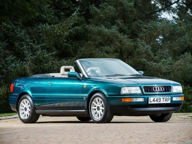 L'Audi 80 cabriolet de Lady Di bientôt à vendre