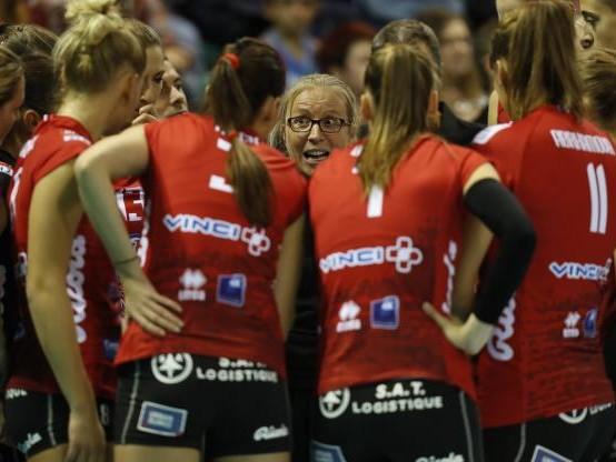 Volley - C. CEV (F) - Coupe de la CEV : Mulhouse se qualifie pour les quarts de finale