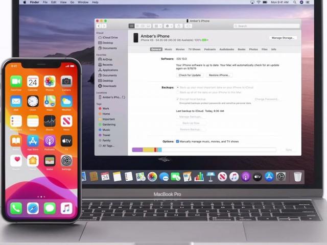 Comment sauvegarder et restaurer son iPhone avec macOS Catalina