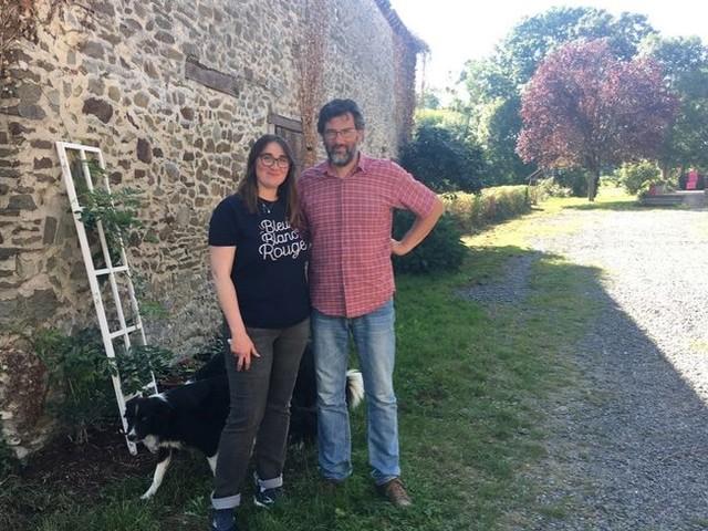 Sud-Mayenne : Estelle et Olivier Marotte, agriculteurs reconvertis et passionnés