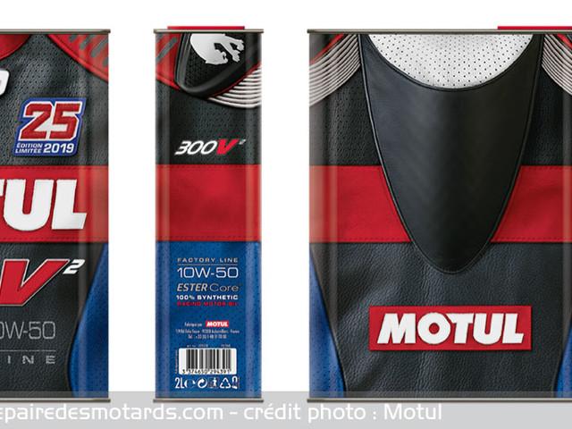 Une huile Motul collector pour le GP de France
