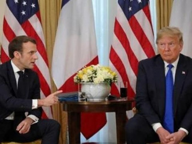 """Taxe """"GAFA"""": Trump et Macron décident...de ne pas encore décider"""