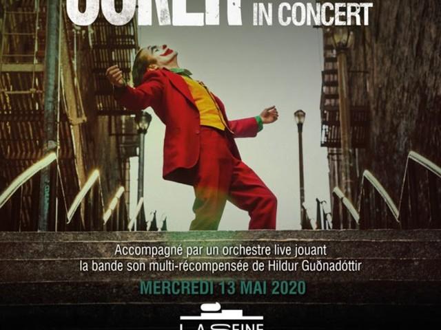 [Idée sortie] Joker en ciné concert avec orchestre live