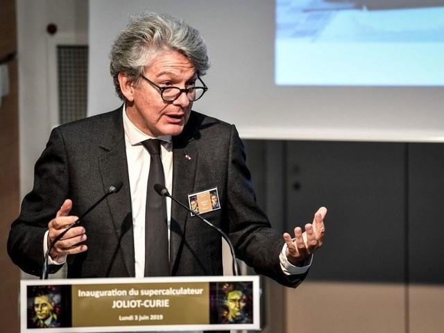 Thierry Breton franchit de justesse une première étape au Parlement européen