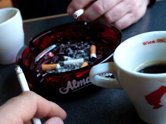 La cigarette désormais interdite dans les cafés et restaurants autrichiens