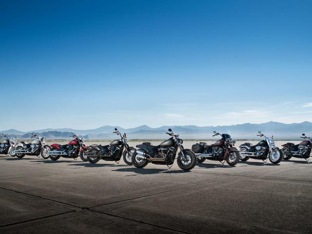 Harley-Davidson fait évoluer les Softail
