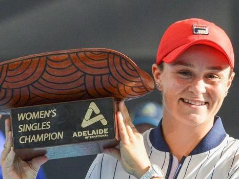WTA: Ashleigh Barty, confiance retrouvée à Adelaide