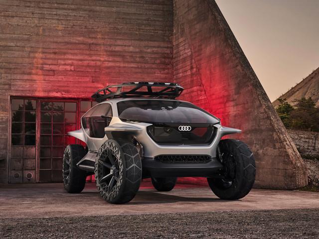 Audi AI:TRAIL, l'étonnant concept de buggy électrique