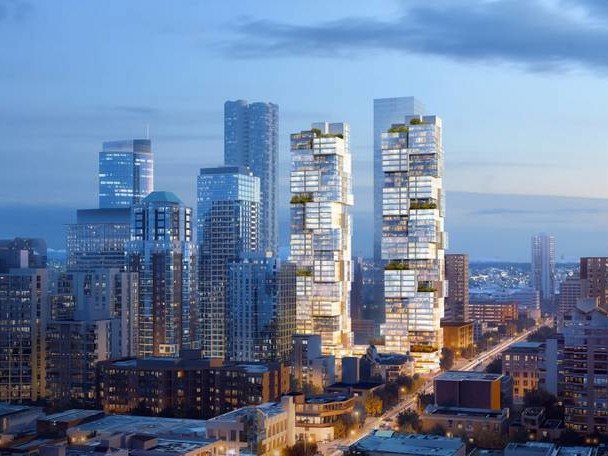 New Vancouver's Towers Looking like Jenga
