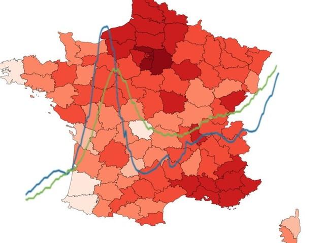 Discours de Macron: les courbes et cartes du Covid en France pour se repérer