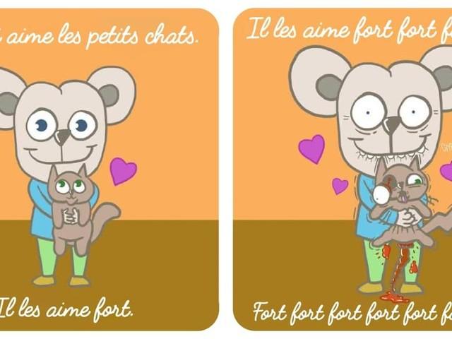 Top 6 des illustrations glauques de Proutchi, le livre pour enfants pas du tout pour enfants
